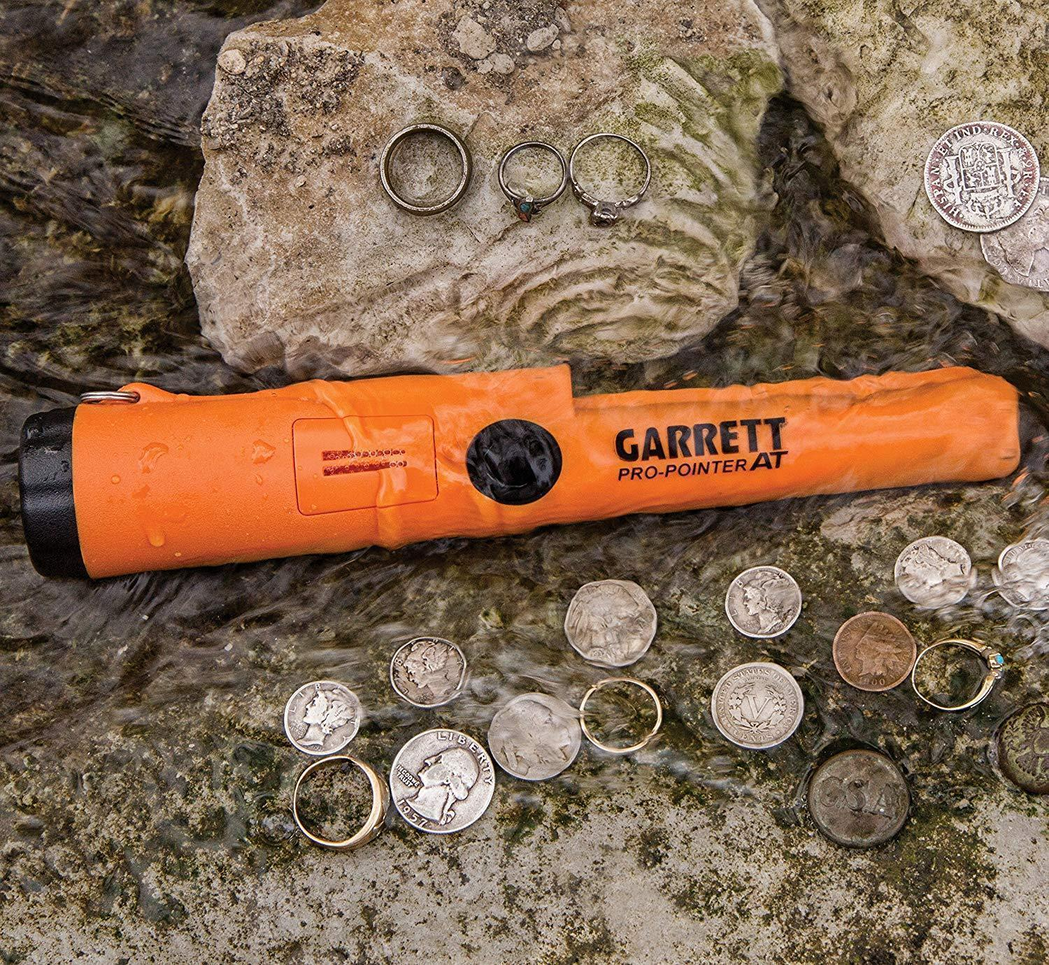 70% OFF ONLY TODAYGarrett 1140900 Pro-Pointer AT Waterproof Pinpointing Metal Detector, Orange