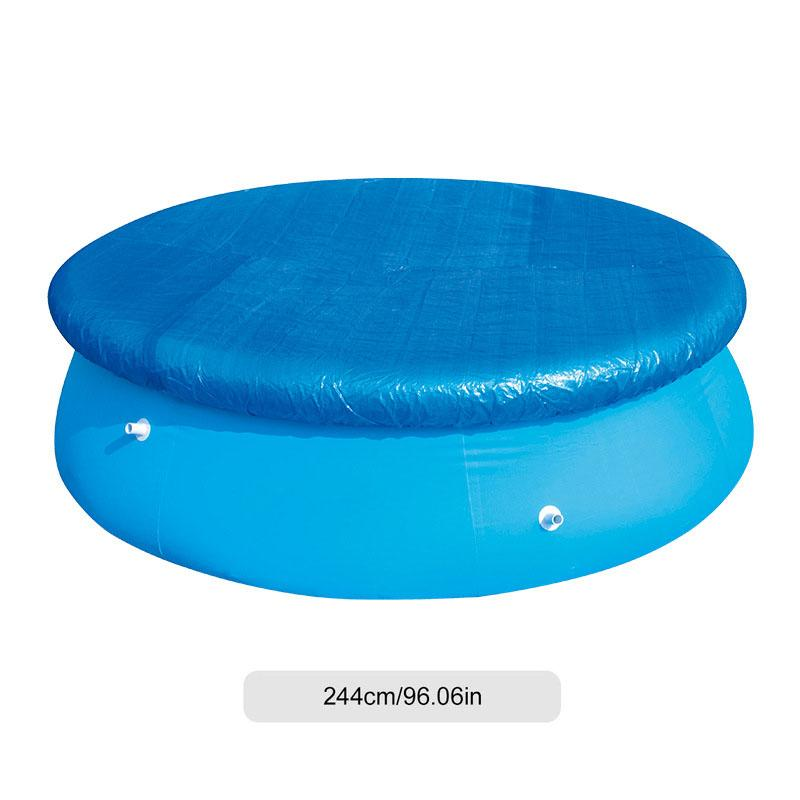 Round And Square Swimming Pool Covers Rectangular Summer Inflatable Kiddie Swim Pool Cover