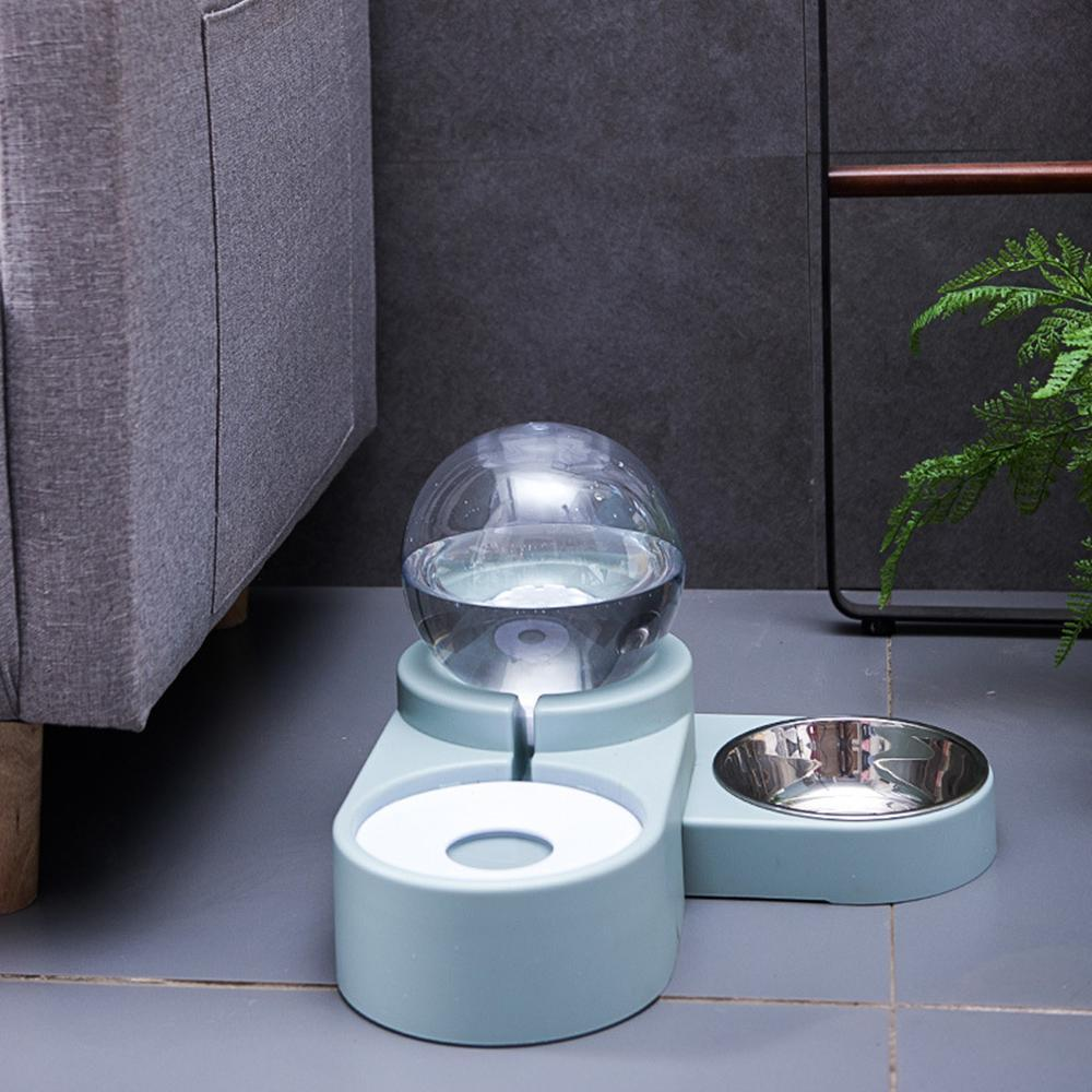 New Bubble Pet Bowls Food Automatic Feeder