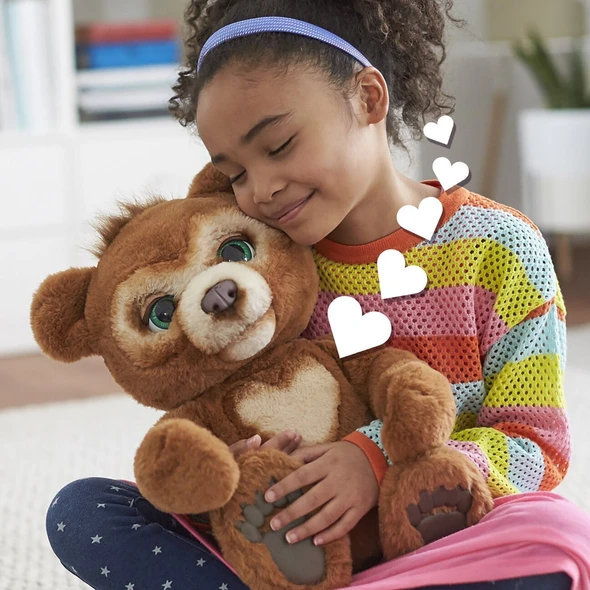 The Curious Bear Interactive Plush Toy