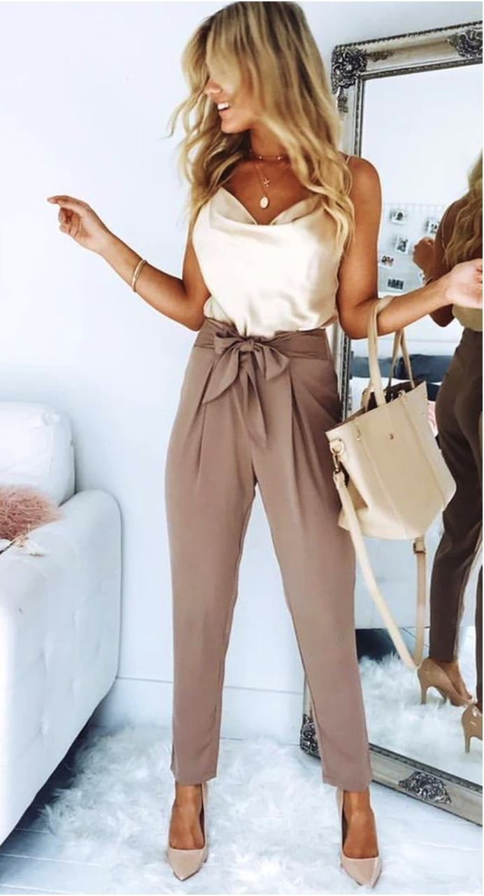Jeans For Women Smart Casual Attire Gold Trousers Womens Holiday Clothes Jodhpur Trousers