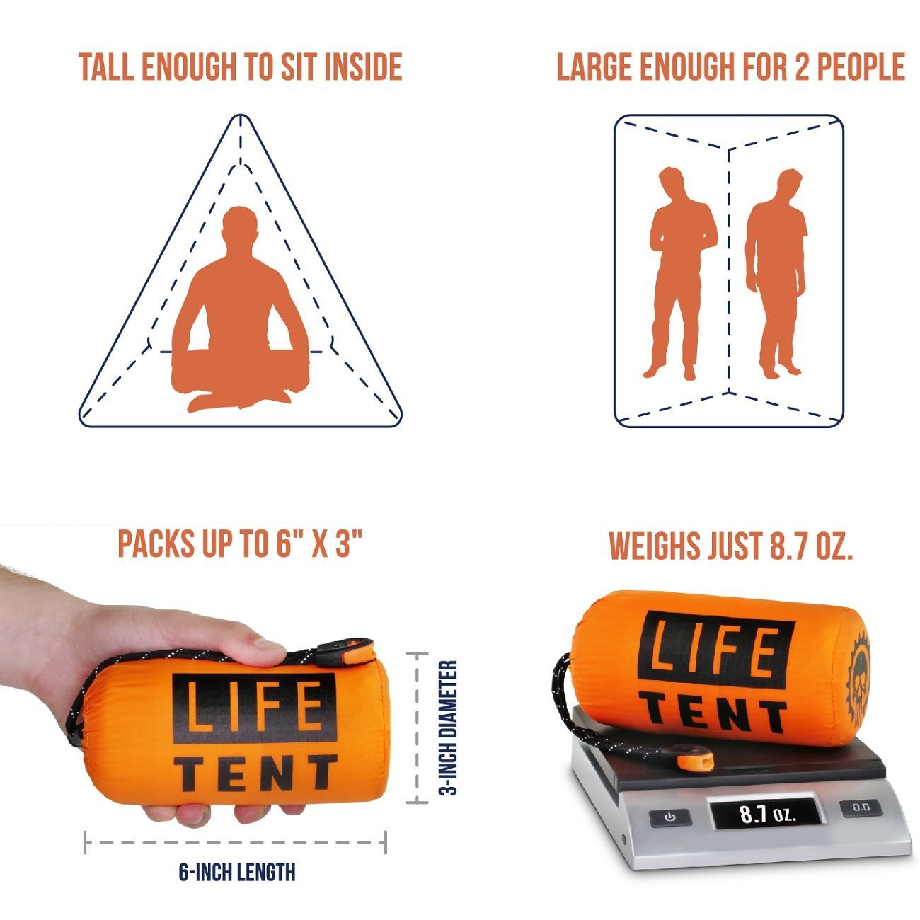 LIFE TENT SURVIVAL SHELTER