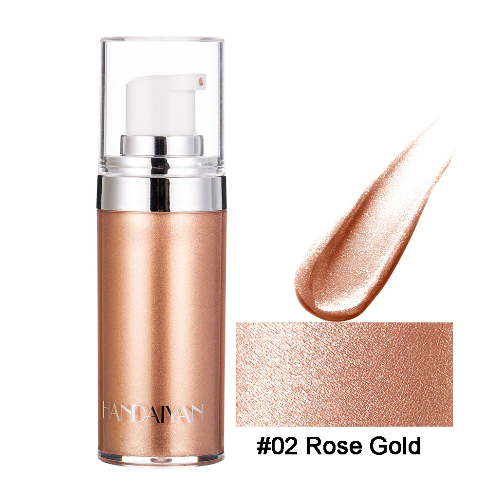 【Limited Quantity】 50% Promotion🥳Shimmer Body Luminizer Bronzer Highlighter Liquid(4 Colors)