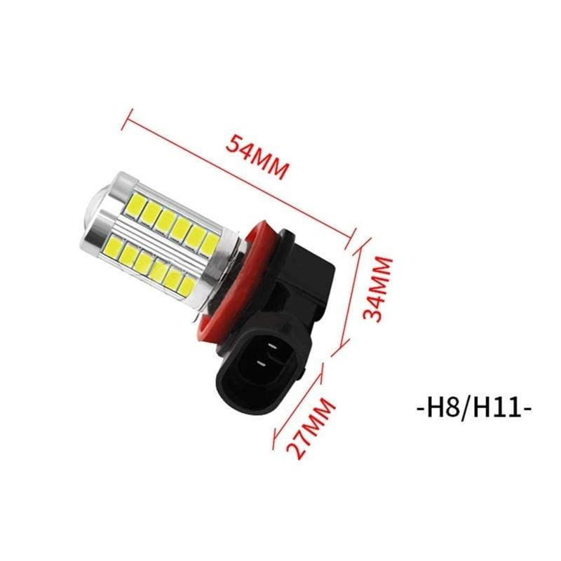 Ueannryer H1H7 H11 9005 9006 7443 3157 20x3030SMD LED 100W Cold White ,Yellow,1157 Yellow Red Light LED Bulb for Car 12-24V,1pc