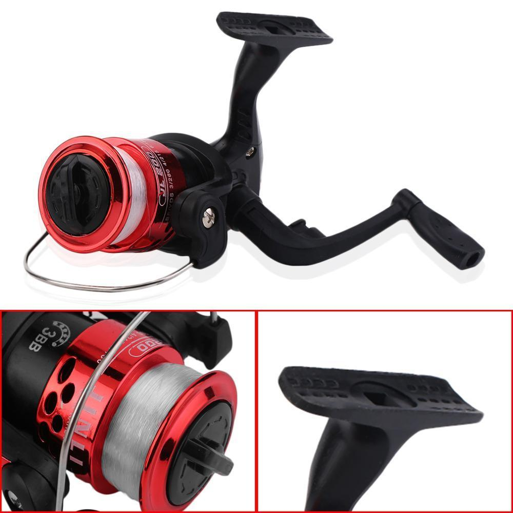 3+1Bb Ball Bearing Fishing Reel Gear Ratio 5.1: 1 Spinning Reel With Line