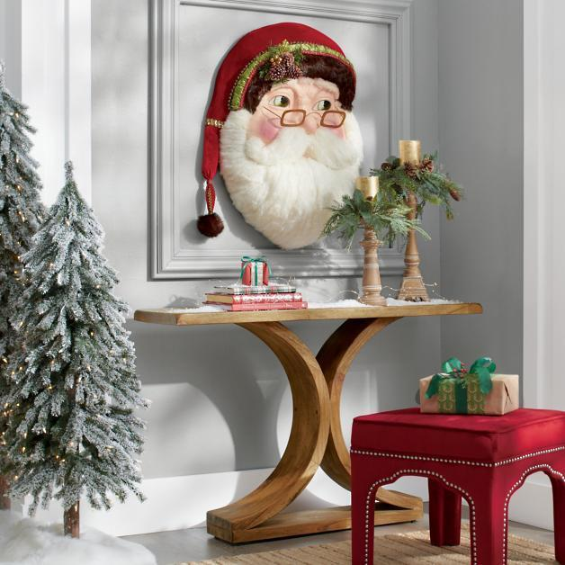 🎅 Buy 2 Get 1 Free 🎅 Katherine's Collection Woodland Santa Wallpiece