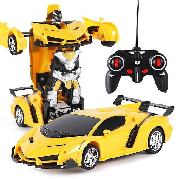 (🔥Last Day Promotion 50% OFF🔥) Pack RC Transformer Car