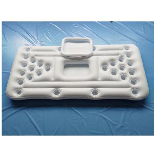 Inflatable 28 cup hole floating row table