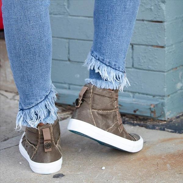 Lemmikshoes Casual Daily High Top Stylish Flat Sneakers