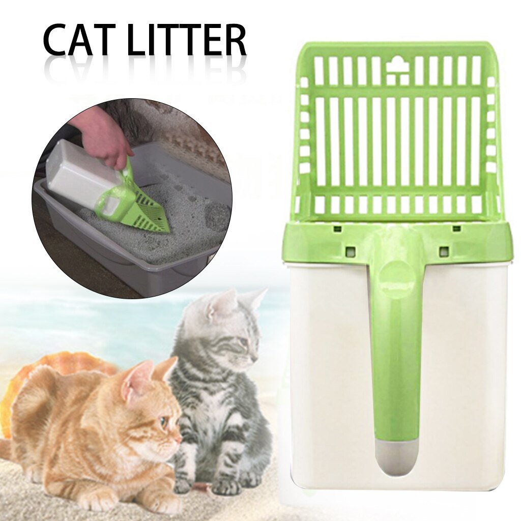 🐱$19.99 LAST 250 pieces🐱Cat Litter Scooper With Waste Bags