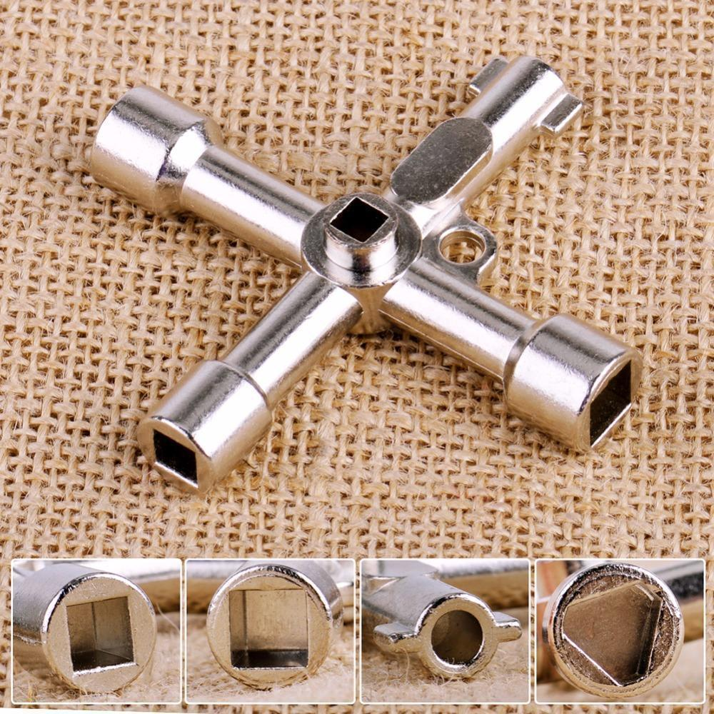 Multifunction 4 Ways Universal Triangle Wrench