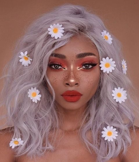 2020 New Gray Hair Wigs For African American Women Womens Wig Grey Peruvian Hair Grey Hair With Fringe Dark Hair Going Grey Descendants 3 Wigs