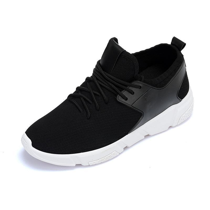 Breathable Mesh Lace Up Couples Comfy Sneakers