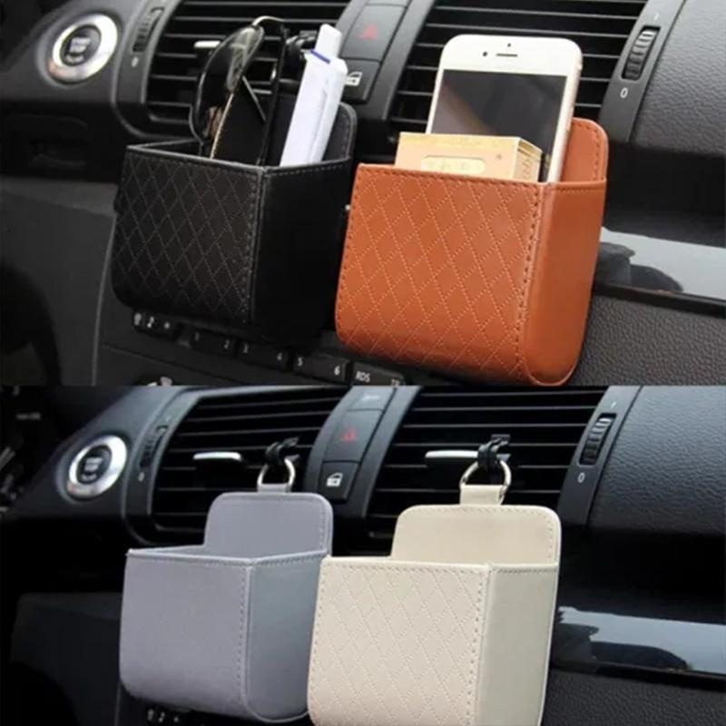 Car Air Outlet Storage Basket
