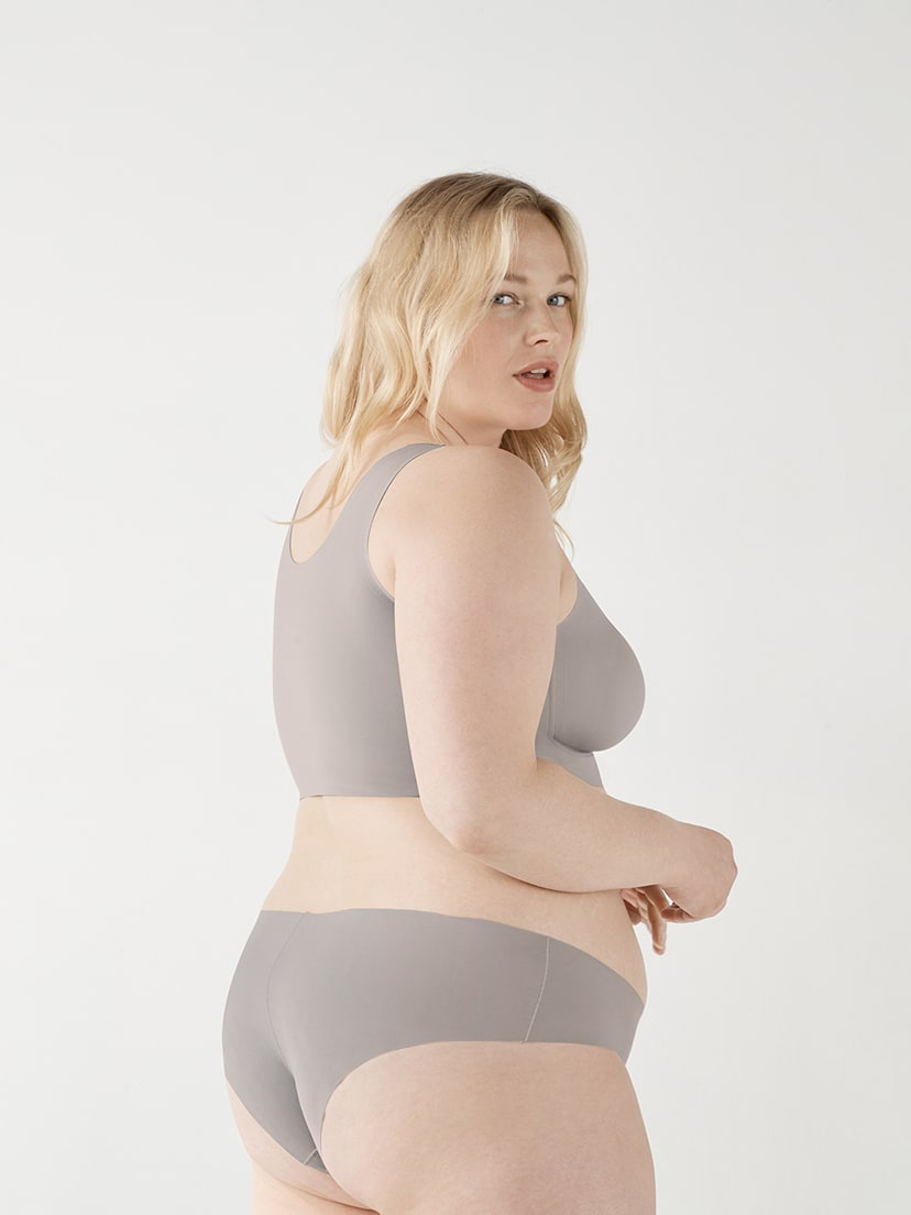 Real Plus Size Comfort Bra(Anti-Uniboob)