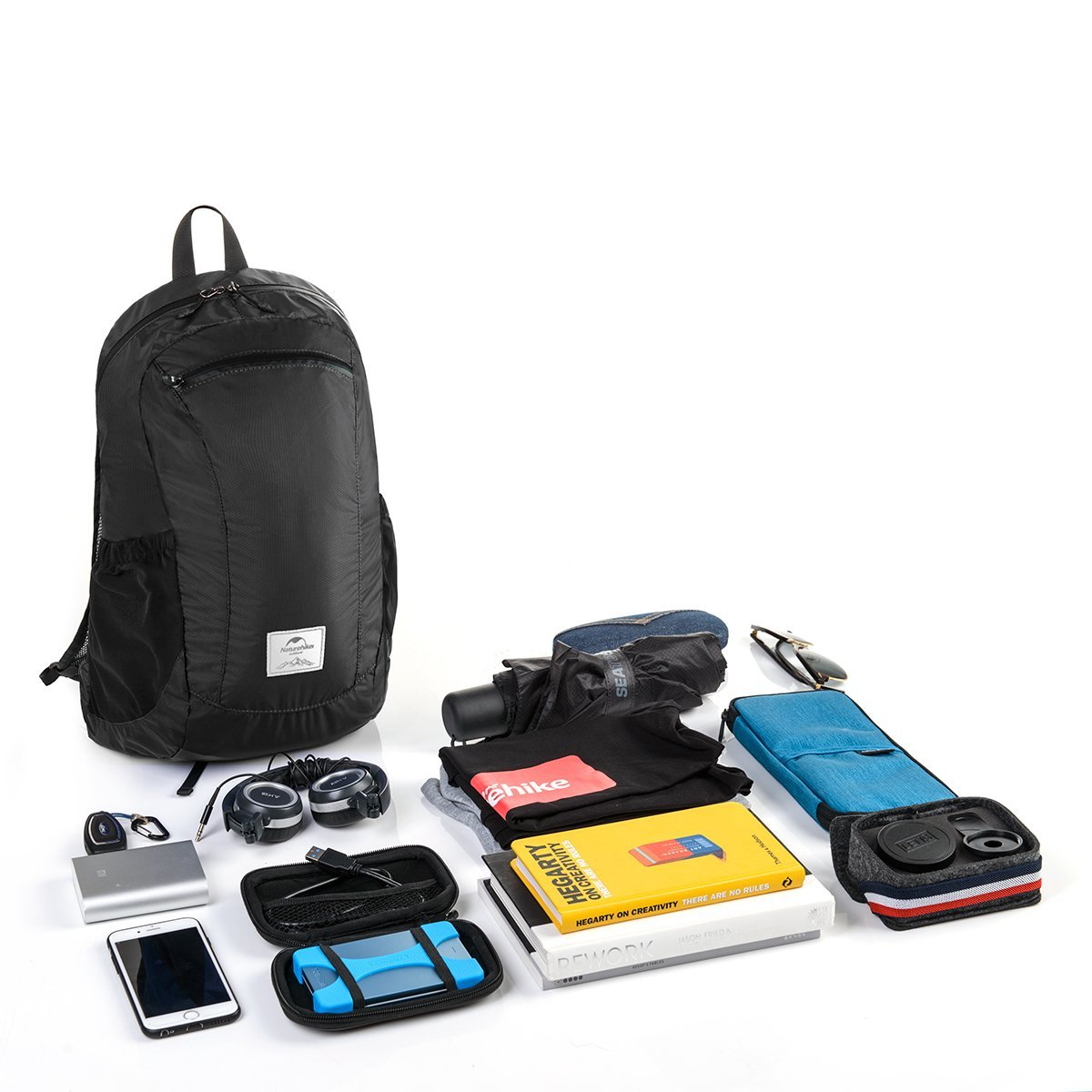 Arkadia Supply™ Foldable Lightweight Packable Backpack