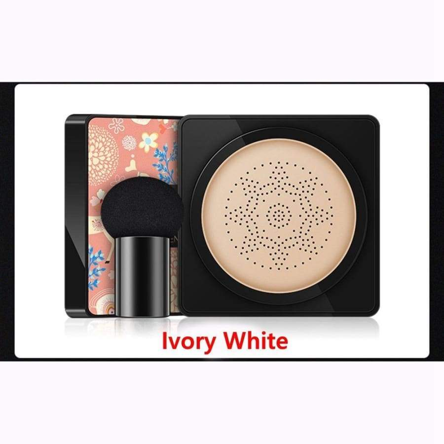 Fashion Waterproof Concealer Brightening Face Makeup With Mushroom Puff Sponge Air Cushion BB Cream Foundation