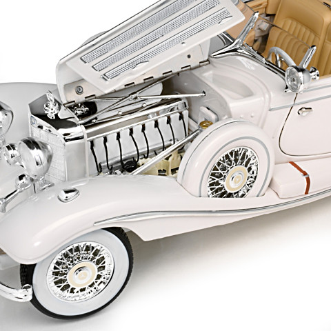 Scale Mercedes-Benz 500K Special Roadster Diecast Car