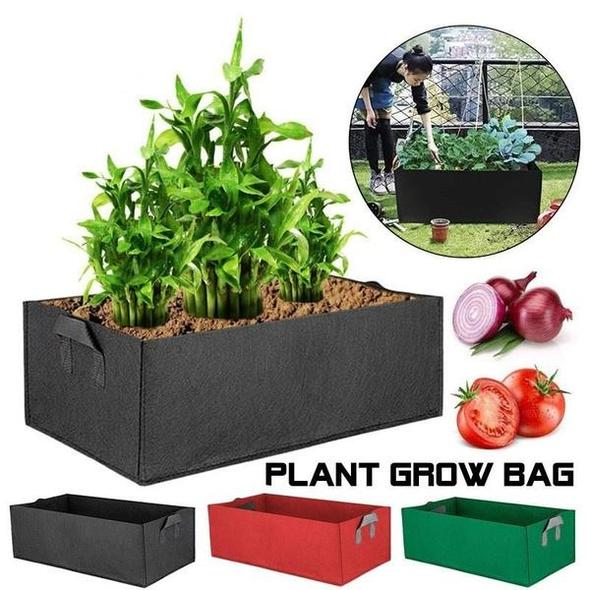 (Father's Day Sale-50% OFF) Rectangle Fabric Raised Garden Bed