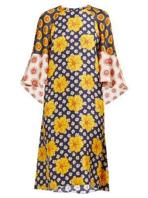2020 Women Dress Casual Dress Print Long Frock Suit Designer Womens Clothing