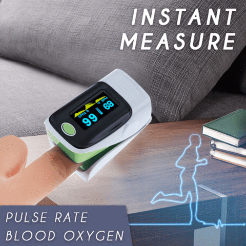 US In Stock! Fast Delivery!  Wireless Digital Finger Pulse Oximeter