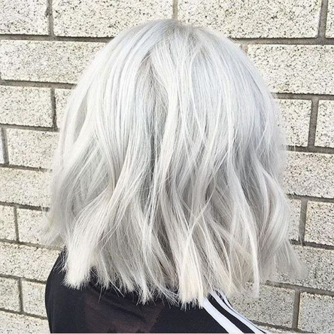 2020 New Gray Hair Wigs For African American Women Wigs For Children Grey Hair Women Grey Ombre Long Hair Greying Beard Young Women With Gray Hair