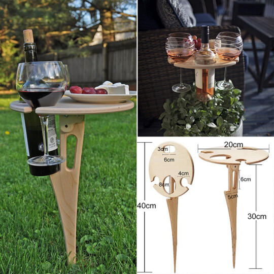 Outdoor Portable DIY Wine Table 🔥BUY 3 FREE SHIPPING🔥