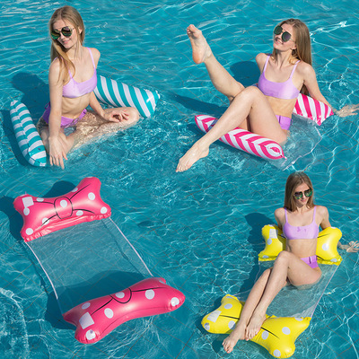 Water lounger floating bed