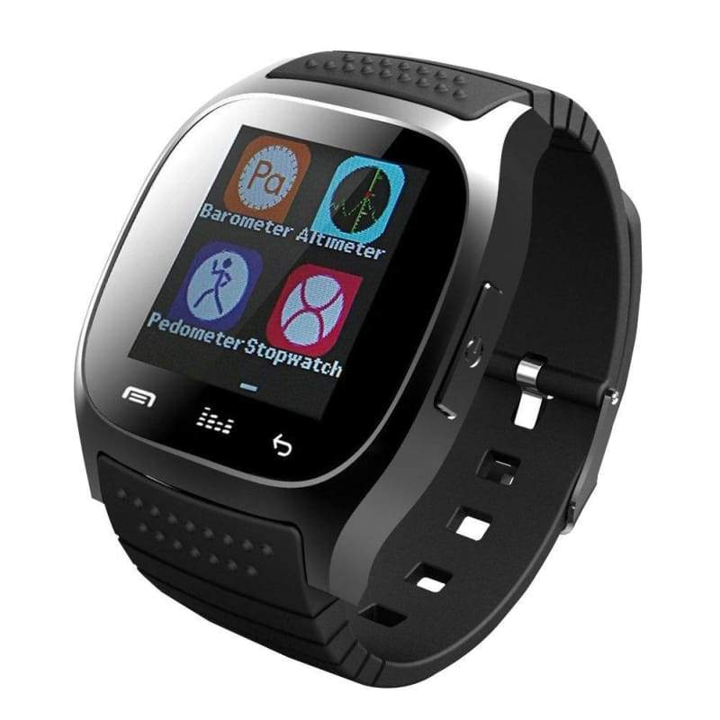 Multifunction Bluetooth Smart Watch with Camera Music Player Sync SMS Smartwatch Support SIM TF Card for Android IOS