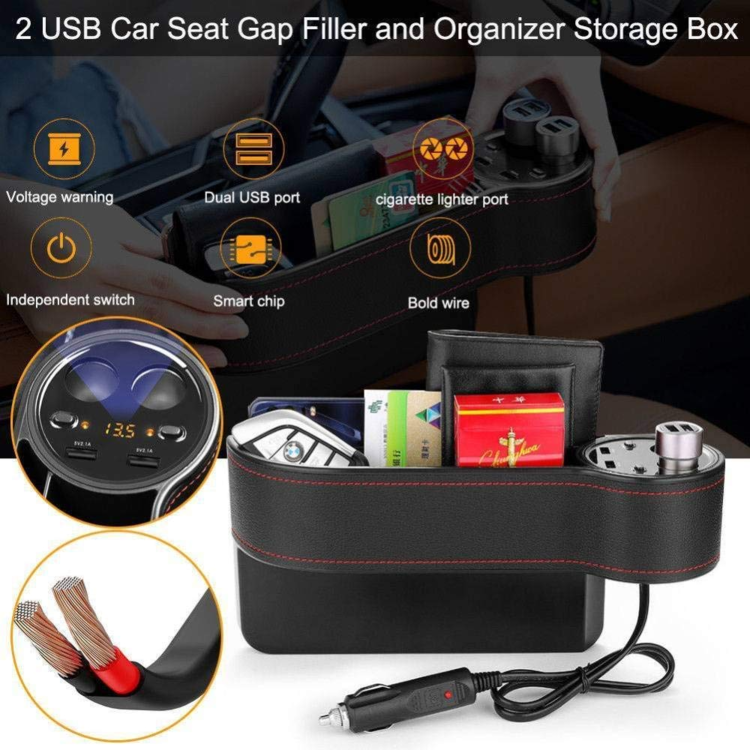 Multifunctional Car Seat Organizer🔥Last day promotion 80% OFF