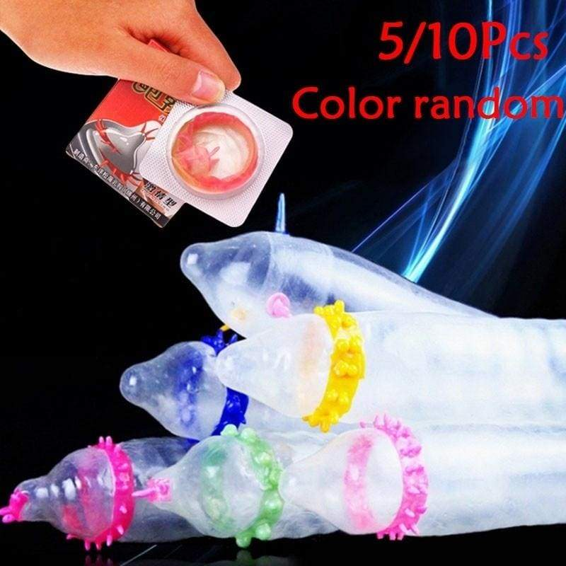 5/10 PCS World Cup Condoms Adult Lovers Hotness Condoms Latex Lubricated Adult Sex Sensitive Thin or 15Pcs Pregnancy Test Strips Early Ovulation Predictor