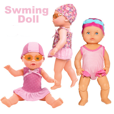Arosetop Electric Waterproof Swimming Baby Doll