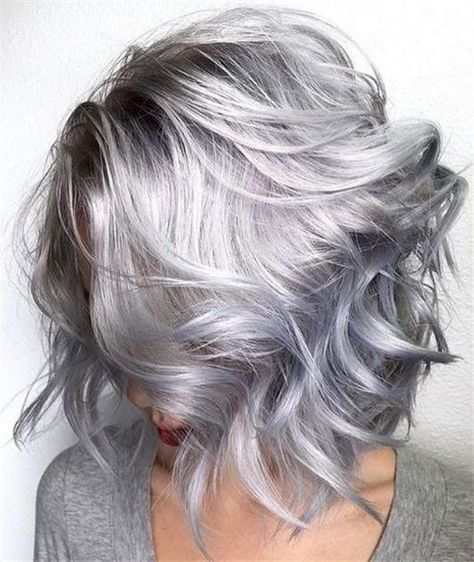 2020 New Gray Hair Wigs For African American Women Grey Short Hair Styles Grey Human Hair Grey Natural Hair Box Braids Grey Best Online Store For African American Wigs