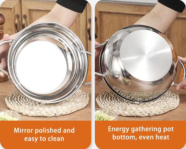 Stainless steel deep frying pot(buy 2 save $10)