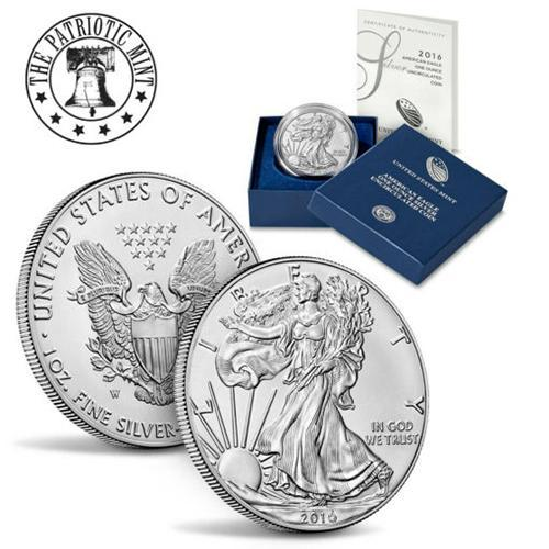 2016 American 1-Ounce Silver Eagle Brilliant Uncirculated (Purchase Limited To 20)