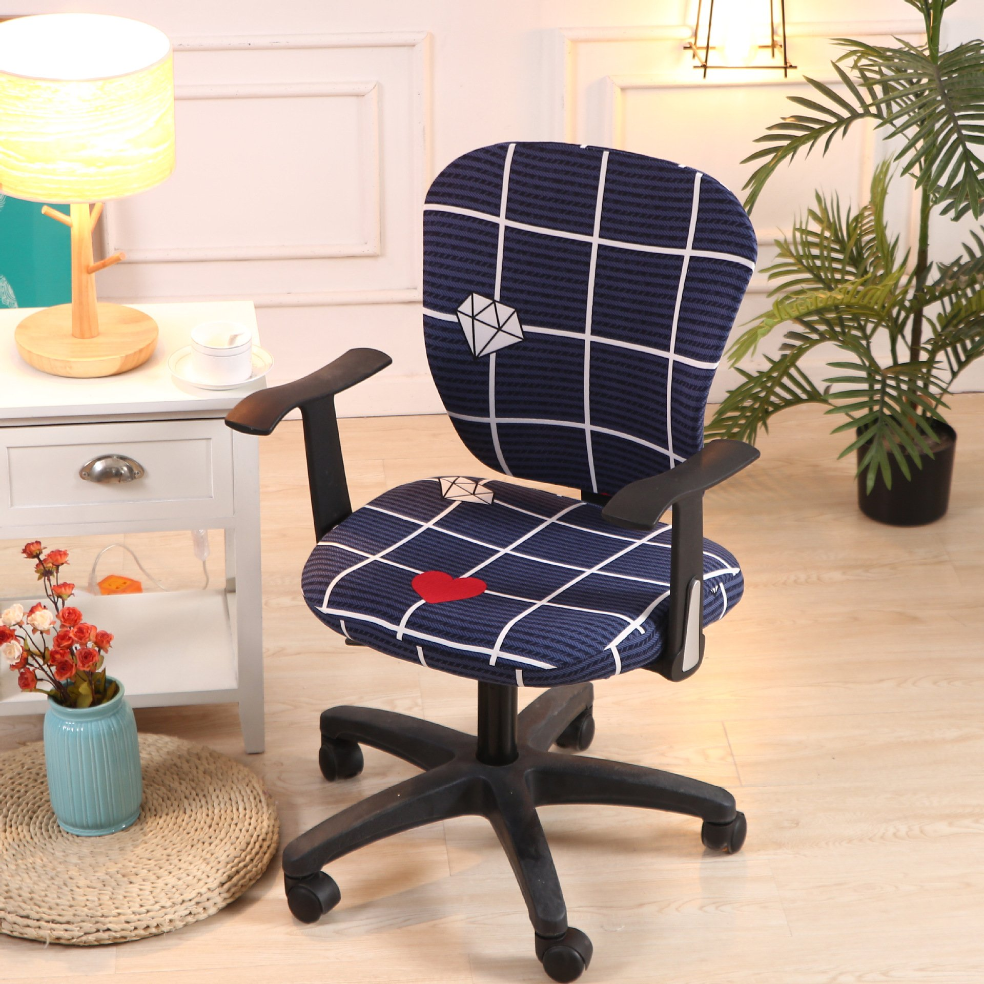2020 New Decorative Computer Office Chair Cover