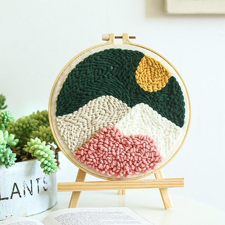 Mountain Punch Needle Embroidery Kit