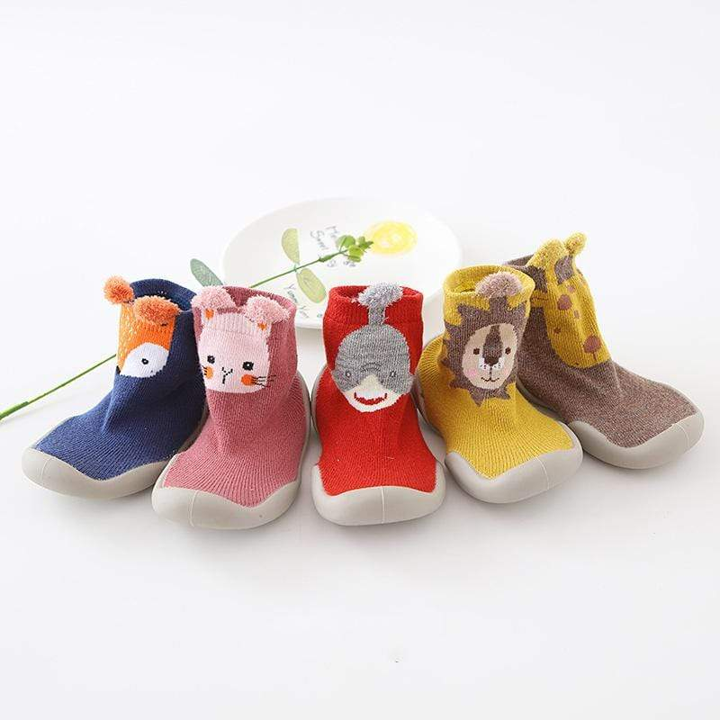 Baby Zoo Slip On Sock Shoes