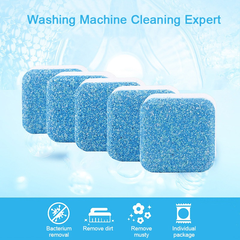 3/5/10PCS Washing Machine Cleaner Washer Cleaning Detergent Effervescent Tablet Washer Cleaner