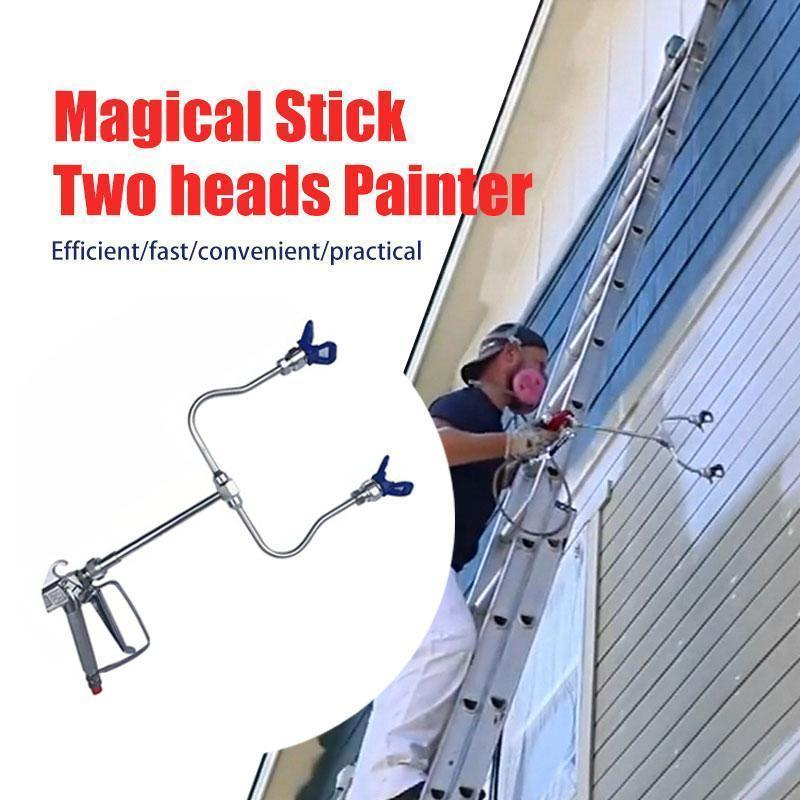 🔥Buy 1 Get 1 Free Today🔥【50% OFF 】Magical Stick Two heads Painter-Spray twice as fast!
