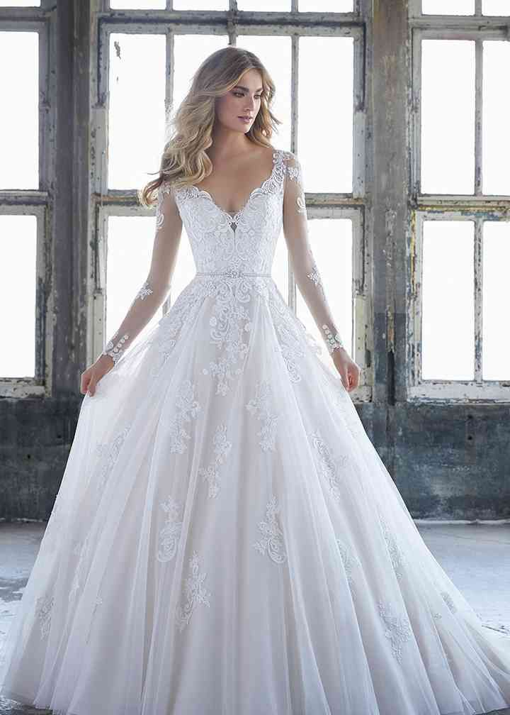 2020 New Wedding Dress Fashion Dress used wedding dresses cheap baby blue formal gown