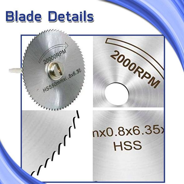 💥2021 Hot Sale 50% OFF💥Disc Drill Blades and Mandrel