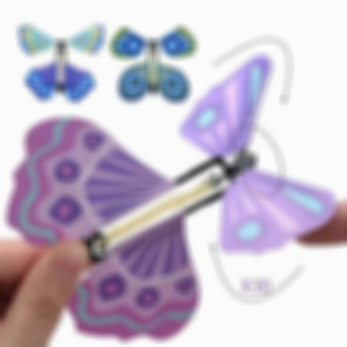 Magic Butterfly Flying Card Toy(Buy 20 Free Shipping)