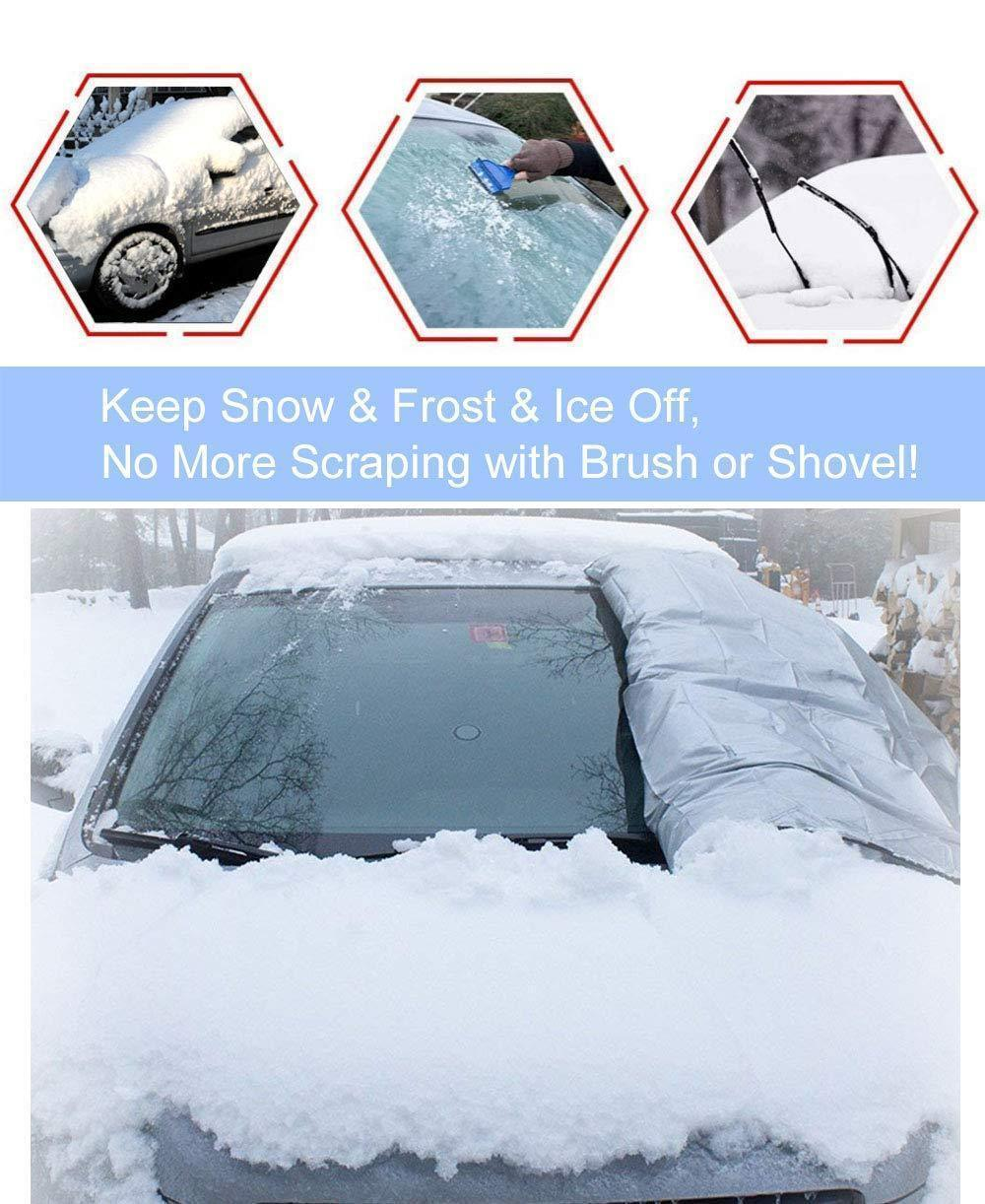 (Last Day Promotion&50% OFF)Hot Selling!!!Premium Windshield Snow Cover Sunshade