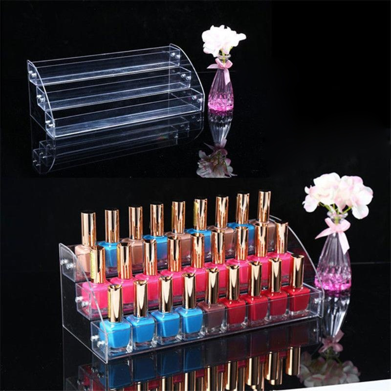 1PC Nail Polish Storage And Display Cosmetic Holder Stand