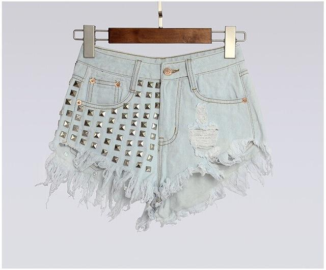 Short Jeans For Women Womens Button Up Shirts Short Sleeve Beyonce Jean Shorts Lace Up Front Denim Shorts