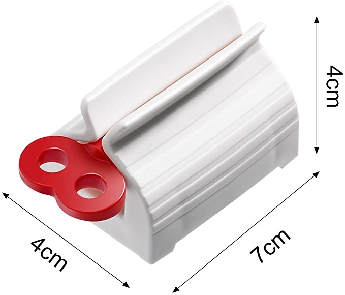 Multifunctional Rolling Tube Toothpaste Squeezer