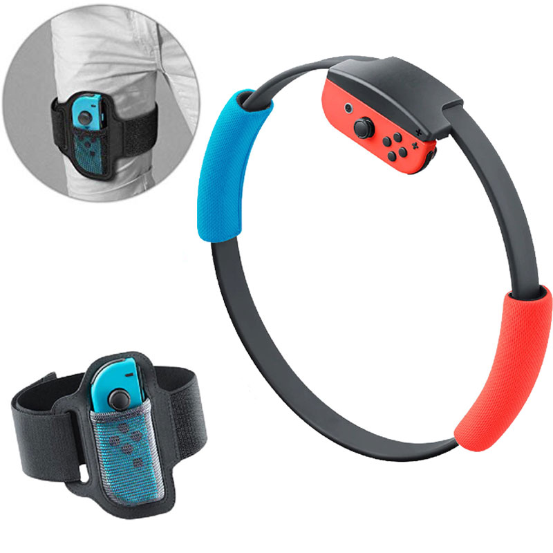 New Adjustable Elastic Leg Strap Sport Band 60cm Ring-Con Grips Leg For Nintendo Switch Ring Fit Adventure Game