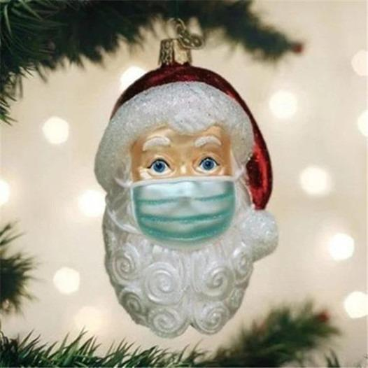 (🎅EARLY XMAS SALE - 50% OFF) Santa in 2020 Ornament, Buy 4 Get 1 Free
