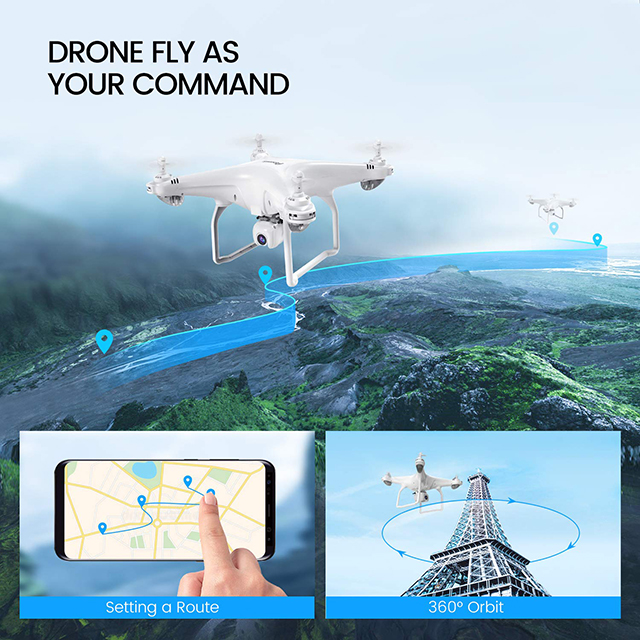 4K Camera Rotation HD 1080P Wifi FPV Professional RC Helicopter